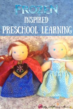 Frozen inspired preschool learning: Montessori works, Reggio provocations, and sensory fun (including some Scandinavian treats) all make appearance in this Disney Preschool Lesson Plan