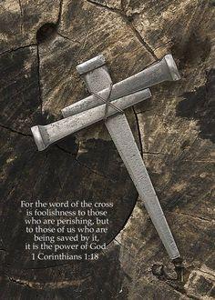 1 Corinthians 1:18...More at http://beliefpics.christianpost.com/