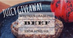 $100 Western Grassfed Beef Giveaway (04/06/2017) {us} via... sweepstakes IFTTT reddit giveaways freebies contests