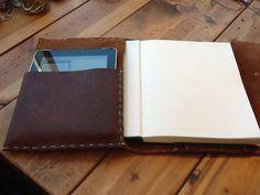 Leather refillable portfolio $169.00