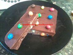 Turrón m&m de chocolate en thermomix