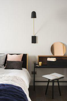 Bedside dresser by MannMade London