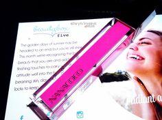 Nanacoco vibrant pink lip gloss! Luv this shade!
