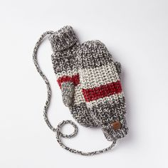 Roots Chunky Cabin String Mitt