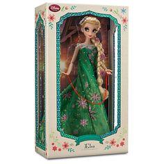 Limited Edition Elsa Doll - Frozen Fever - - US Disney Store Product Image Disney Descendants Dolls, Disney Animators, Disney Animator Doll, Disney Barbie Dolls, Disney Princess Dolls, Disney Princesses, Dessin My Little Pony, Pixar, Disney Stained Glass