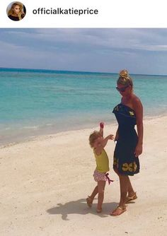 #KatiePrice spotted wearing LindseyBrown Resort Atheni Dress on holiday in #Maldives