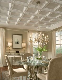 Dining Room Ceiling Designs | Dining Room Ceiling Ideas