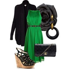 Green with Envy, created by krmicmac on Polyvore