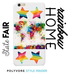 """""""rainbow"""" by sunshinegirlll on Polyvore featuring art, contestentry and PVStyleInsiderContest"""