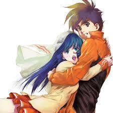 Lynn Minmay(リン・ミンメイ) and Hikaru Ichijyo from Super Dimension Fortress Macross the First Vol.2
