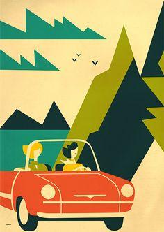 Martini Poster  Art by Iv Orlov
