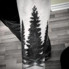 pine tree art - Google Search