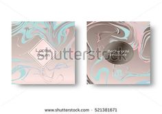 Marble texture vector. Marbling paint. Art nouveau wallpaper. Retro design. Set for cover, flyers, leaflets, promotional offers, banners, brochures, booklets.