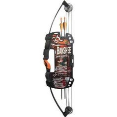 Barnett Banshee Intermediate Compound Bow - Get your junior Robin Hood or Katniss Everdeen into the sport of archery the right way with the Barnett Banshee Intermediate Compound Bow . Archery Bows For Sale, Archery Set, Bow And Arrow Set, Bow Cases, Outdoor Store, Online Shopping Mall, Gifts For Boys, Sports, Ebay
