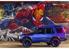 Land Rover Discovery 2, Spiderman, Superhero, British, Fictional Characters, Instagram, Art, Spider Man, Art Background