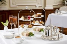 Afternoon Tea in the Imperial Room at Bettys Harrogate, England