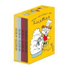 Coffret de 4 cahiers de recettes, 100drine
