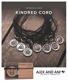 Kindred Cord - It's Here! Get it first! A very special collection from Alex and Ani celebrating you with #charms that express your individuality and delicate cords that represent the common thread tying us all together.❤️ Shop now.