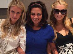 Nicky Hilton, Rena Sindi y Paris Hilton en el almuerzo previo a la fiesta preboda #NickyHiltonWedding