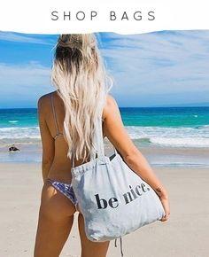 Denim Tote Bags, Light Denim, Vegan Chocolate, Vintage Looks, Sustainable Fashion, Drawstring Backpack, Nice, Swimwear, Shops