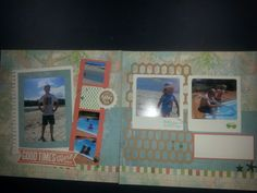 Seaside workshop on the go is this months project. This is a fun layout from ctmh.