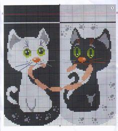 """Подушка """"Влюбленные котята"""" - Для уюта в доме"""