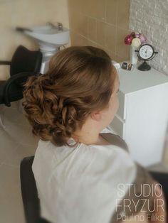 #updo #bridal #hairstylist #hairstyles #hairdo #art #weddinghair #wedding #weddingphotography #hair #studiofryzur #salonfryzjerski #upięcie #wesele2017 #wesele #paulinafiliks #pasja #lovemyjob #badzpiekna #love #happy #instahair #follow #goodday #studiofryzurpaulinafiliks