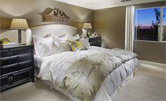 The Pebble Beach Master Bedroom at Destinations. Sacramento, California.
