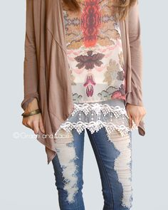 c38965323c5 Pointed Lace Top Extenders. Shirt ExtenderLace ...