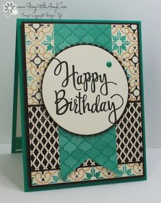 Stylized Happy Birthday by amyk3868 - Cards and Paper Crafts at Splitcoaststampers