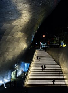DDP Stairs South Korea