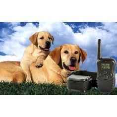 Collar Eléctrico Para Entrenamiento De Perros, Recargable