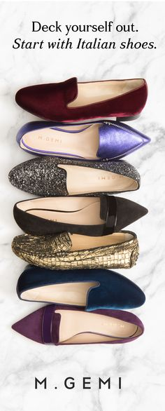 New handmade shoes at prices that won't ruin the mood. Time to get shopping, bella.