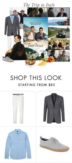 """""""Movie Nights to Remember: The Trip to Italy: Double Feature"""" by cocodobard ❤ liked on Polyvore featuring Maison Scotch, Paul Smith, J.Crew, Ben Sherman and country"""