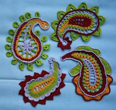 Ravelry: Paisley magic pattern by CAROcreated design