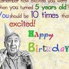 Funny 50th Birthday Quotes, 50th Birthday Gag Gifts, Birthday Wishes For Men, Birthday Card Sayings, Happy Birthday Quotes, Humor Birthday, Birthday Greetings, Birthday Ideas, Birthday Nails
