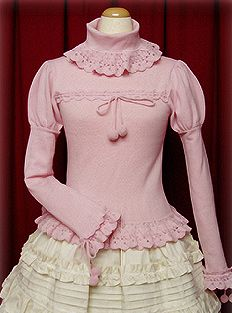 Baby the Stars Shine Bright / Cutsew & Knit / Frills and Pompoms Pullover