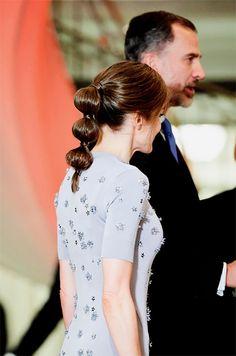 Since enthronement Queen Letizia has not worn her wedding ring nor