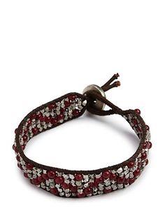Red Zig Zag Bracelet - Jewelry - Lucky Brand Jeans
