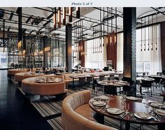Stunning Hotel and Restaurant Design – Travel & Restaurants Restaurant Layout, Restaurant Design, Deco Restaurant, Luxury Restaurant, Restaurant Lounge, Design Hotel, Restaurant Lighting, Modern Restaurant, Hotel Lounge