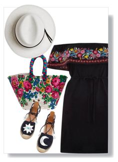 """""""Summer in Greece"""" by shrougsd on Polyvore featuring Calypso Private Label and Aquazzura"""