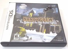 Nancy Drew: The Mystery of the Clue Bender Society (Nintendo DS, for sale online Nintendo Dsi Games, Nancy Drew Mysteries, Ds Games, Game 3, Video Games, Mystery, Ebay, Videogames, Video Game
