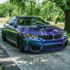 BMW F82 M4 purple