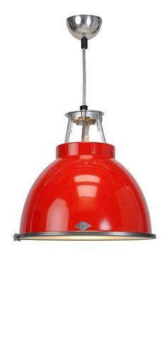 BTC The Titan 1 FP 005 kolorowane aluminium lampa wisząca - Sklep Lampy Luna