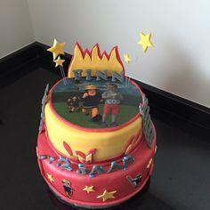 Brandweerman Sam taart cake
