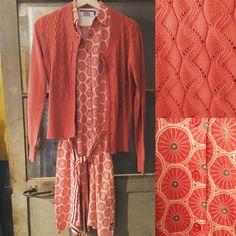 """32 Likes, 3 Comments - The Old Garage (@theoldgaragedk) on Instagram: """"Super fin kjole 800,- strik 600,- Det fine mønster på kjolen er cykelhjul, kjolen hedder City vibes…"""""""