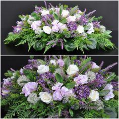 Dekoracja nagrobna Nr 189 Casket Flowers, Grave Flowers, Cemetery Flowers, Funeral Flowers, Seasonal Flowers, Fresh Flowers, Silk Flowers, Casket Sprays, Funeral Flower Arrangements
