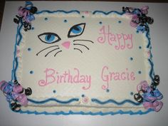 Kitty Cat Cake Hats of to cakery! This is one of her designs. My daughter fell in love with this cake and just had to have it for her...