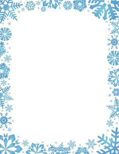 Snowflake border clipart winter christmas snow border poster blue winter border clip art winter snowflake borderLibrary Of Picture Stock Winter Borders Png S ClipartCollection Of. Christmas Border, Christmas Frames, Borders For Paper, Borders And Frames, Scrapbook Paper, Scrapbooking, Printable Border, Free Printable Stationery, Christmas Stationery