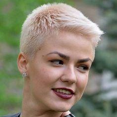 "146 Likes, 5 Comments - Евгения Панова (@panovaev) on Instagram: ""#pixie #haircut #short #shorthair #h #s #p #shorthaircut #blondehair #b #hair #blondeshavemorefun…"""